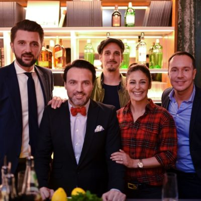 Marko Pesic, Ayhan Durak, Max von Thun, Funda Vanroy, Daniel Laurent (von links nach rechts)