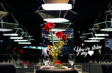 Romantisches Dinner bei Kerzenlicht im Herzen von München