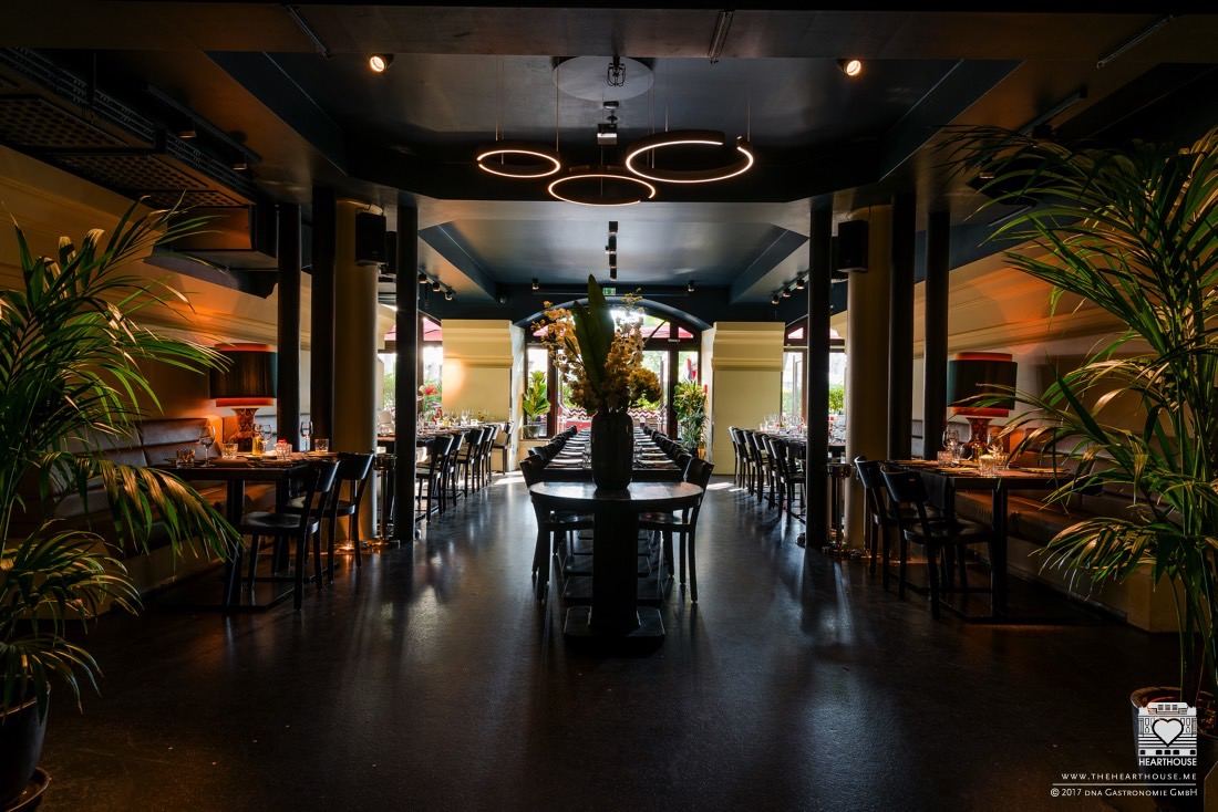 essen in m nchen heart bar restaurant am lenbachplatz. Black Bedroom Furniture Sets. Home Design Ideas