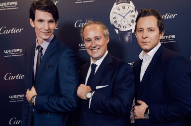 Cartier Gentlemens only! Event