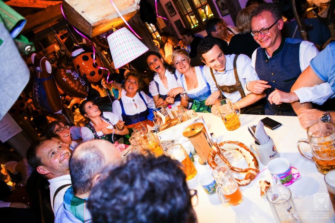 HEARTHOUSE Bergfest 2018 in der Käfer Wiesn-Schänke