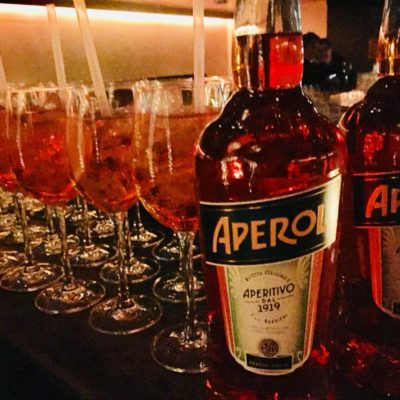 Aperol Spritz Welcome Drinks