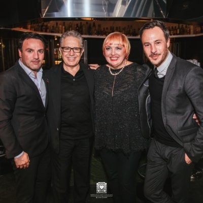 Ayhan Durkak, Zülfü Livaneli, Claudia Roth und Nikias Hofmann