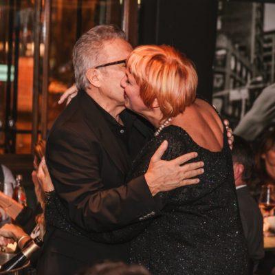 Zülfü Livaneli und Claudia Roth